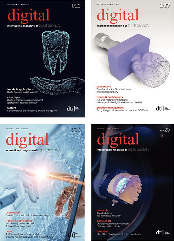 digital international Annual Subscription