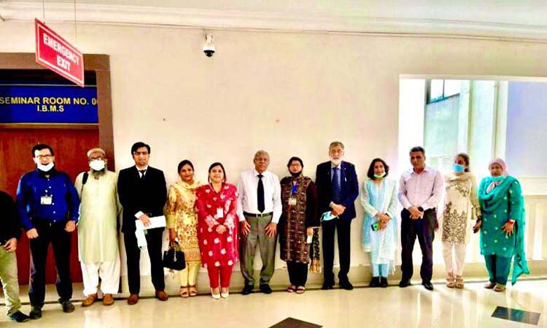 DUHS accords its first PhD degree to Dr Ambrina Qureshi